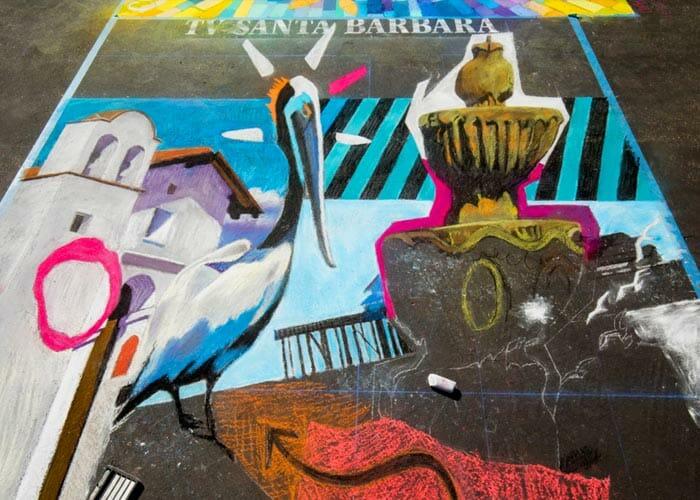 IMadonari Street Painting Festival in Santa Barbara